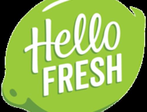 De HelloFresh box viel in de smaak! Ook wat voor jou?